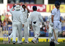 Alastair Cook walks off after being dismissed by R Ashwin