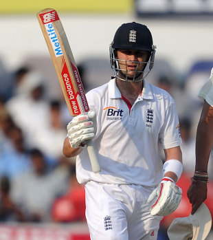 Jonathan Trott dug in for a vital, unbeaten half-century that pushed England towards safety in the match