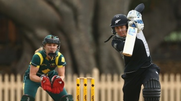 Nicola Browne top scored for New Zealand with 42