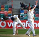 Peter Siddle traps Thilan Samaraweera in front, Australia v Sri Lanka, 1st Test, Hobart, 5th day, December 18, 2012