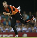 Michael Beer struck twice and gave only 17 runs in his four overs, Brisbane Heat v Perth Scorchers, Big Bash League, December 18, 2012