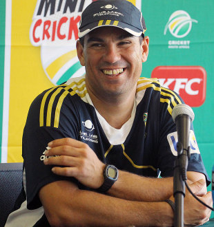 Russell Domingo speaks to the media, Durban, December 19, 2012