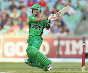 Glenn Maxwell scored an aggressive 82, Melbourne Stars v Sydney Sixers, Big Bash League, Melbourne, December 21, 2012