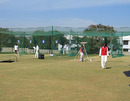 Players practice at the KSCA Academy nets