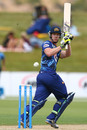 Jimmy Neesham scored an unbeaten half-century, Otago v Auckland, HRV Cup, Queenstown, December 31, 2012