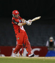 Tom Cooper helped Melbourne Renegades win with some big hits, Melbourne Renegades v Brisbane Heat, Big Bash League, Docklands Stadium, Melbourne, December 22, 2012