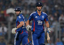 Michael Lumb and Alex Hales added fifty together inside six overs