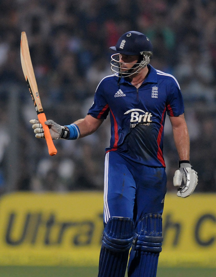 Michael Lumb made his first T20 international fifty