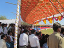 Crowds gather in Hubli to watch Karnataka take on Haryana, Karnataka v Haryana, Ranji Trophy 2012-13, Group B, Hubli, 1st day, December 22, 2012