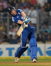 Jos Buttler chipped in with a crucial 15 off seven balls, India v England, 2nd Twenty20 international, Mumbai, December 22, 2012