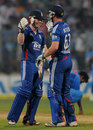 Eoin Morgan and Jos Buttler saw England to a six-wicket win, India v England, 2nd Twenty20 international, Mumbai, December 22, 2012