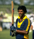Ravi Ratnayeke bats against India, India v Sri Lanka, Rothmans Asia Cup, Sharjah, April 8, 1984