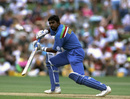 Asanka Gurusinha was caught behind for 9, New Zealand v Sri Lanka, World Cup, Hamilton, February 25, 1992
