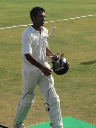 Jayant Yadav scored 211 for Haryana, Karnataka v Haryana, Ranji Trophy, Group B, Hubli, 2nd day, December 23, 2012