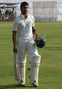 Kunal Kapoor became the first Karnataka batsman to score a century in each innings in the Ranji Trophy, Karnataka v Haryana, Ranji Trophy 2012-13, Group B, Hubli, 4th day, December 25, 2012