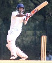 Arun Karthik scored 70 on the last day, Tamil Nadu v Uttar Pradesh, Ranji Trophy, Group B, Chennai, 4th day, December 24, 2012