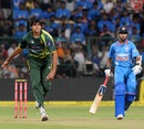 Mohammad Irfan hustled batsmen with pace and bounce