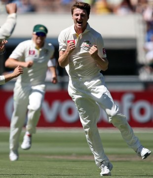 Jackson Bird picked up two wickets on his first day of Test cricket