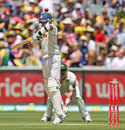 Prasanna Jayawardene was struck on the thumb, Australia v Sri Lanka, 2nd Test, Melbourne, 1st day, December 26, 2012