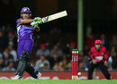 Ricky Ponting finished unbeaten on 63, Sydney Sixers v Hobart Hurricanes, Big Bash League, Sydney, December 26, 2012