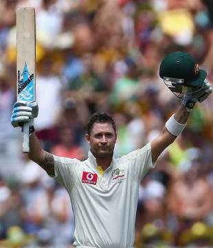 Another century for Michael Clarke in 2012, Australia v Sri Lanka, 2nd Test, Melbourne, 2nd day, December 27, 2012