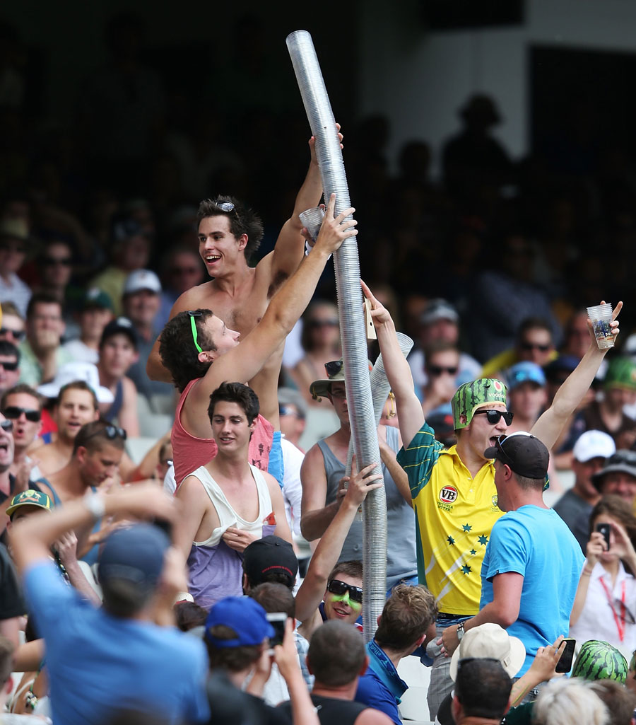 The crowds had a ball at the MCG