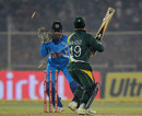 Ahmed Shehzad is stumped, India v Pakistan, 2nd Twenty20, Ahmedabad, December 28, 2012