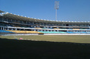 The stands at the Saurashtra Cricket Association Stadium, Rajkot, December 28, 2012