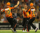 Perth Scorchers' Alfonso Thomas took 4 for 8, Perth Scorchers v Melbourne Renegades, BBL, Perth, December 29, 2012