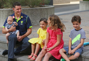 Michael Hussey's retirement will allow him more time with his family, Melbourne, December 30, 2012