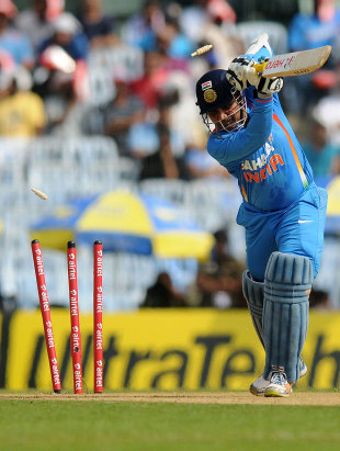 Virender Sehwag has been dropped for the first three ODIs against England