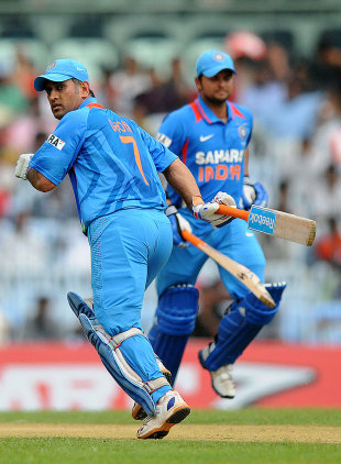 Suresh Raina will lead India in MS Dhoni's absence