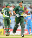 Younis Khan and Nasir Jamshed steadied Pakistan's chase