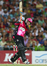 Daniel Hughes scored a fifty to take Sydney Sixers to a rare win