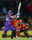 Tim Paine guided the Hurricane's run chase, Hobart Hurricanes v Perth Scorchers, Big Bash League, Hobart, January 1, 2013