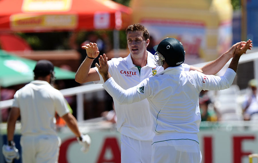 Morne Morkel picked up three wickets
