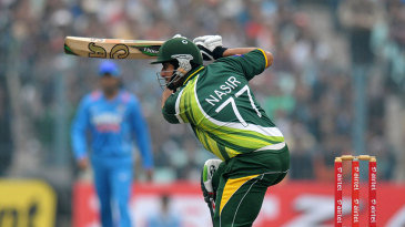 Nasir Jamshed scored his second ton in two games