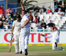 Daniel Flynn was caught behind off Jacques Kallis, South Africa v New Zealand, 1st Test, Cape Town, 2nd day, January 3, 2013