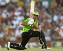 Usman Khawaja scored a half-century, Perth Scorchers v Sydney Thunder, Big Bash League, Perth, January 4, 2013