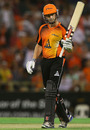 Shaun Marsh's 56 led Perth Scorchers to an easy win, Perth Scorchers v Sydney Thunder, Big Bash League, Perth, January 4, 2013