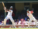 Dimuth Karunaratne plays an attacking stroke, Australia v Sri Lanka, 3rd Test, Sydney, 3rd day, January 5, 2013