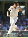 Mitchell Johnson took two top-order wickets to peg Sri Lanka back