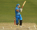 Michael Klinger gets hit by a bouncer, Hobart Hurricanes v Adelaide Strikers, Big Bash League, Hobart, January 5, 2013