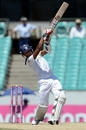 Dinesh Chandimal goes down the ground