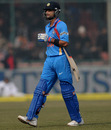 Virat Kohli was dismissed for 7
