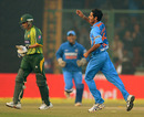Bhuvneshwar Kumar took two early wickets for India