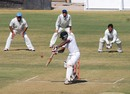 Imtiaz Ahmed was unbeaten on 53 off 35 balls, Services v UP, Ranji Trophy Quarter-final, Indore, 1st day, January 6, 2012