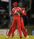 Kevon Cooper took 3 for 17, CCC v Trinidad & Tobago, Caribbean T20, Trinidad, January 8, 2013