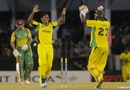 Krishmar Santokie bowled three batsmen, Jamaica v Windward Islands, Caribbean T20, Trinidad, January 9, 2013