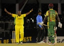 Tamar Lambert took three wickets in an over, Jamaica v Windward Islands, Caribbean T20, Trinidad, January 9, 2013